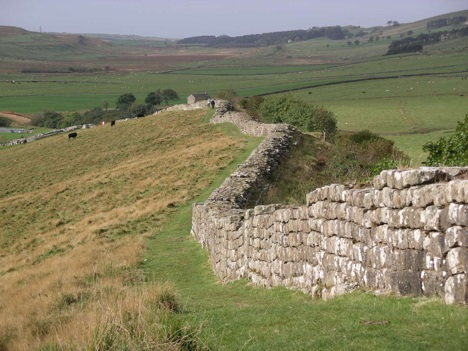 Ruins of Hadrian's Wall